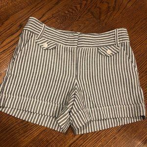 ABS PLATINUM stripe shorts